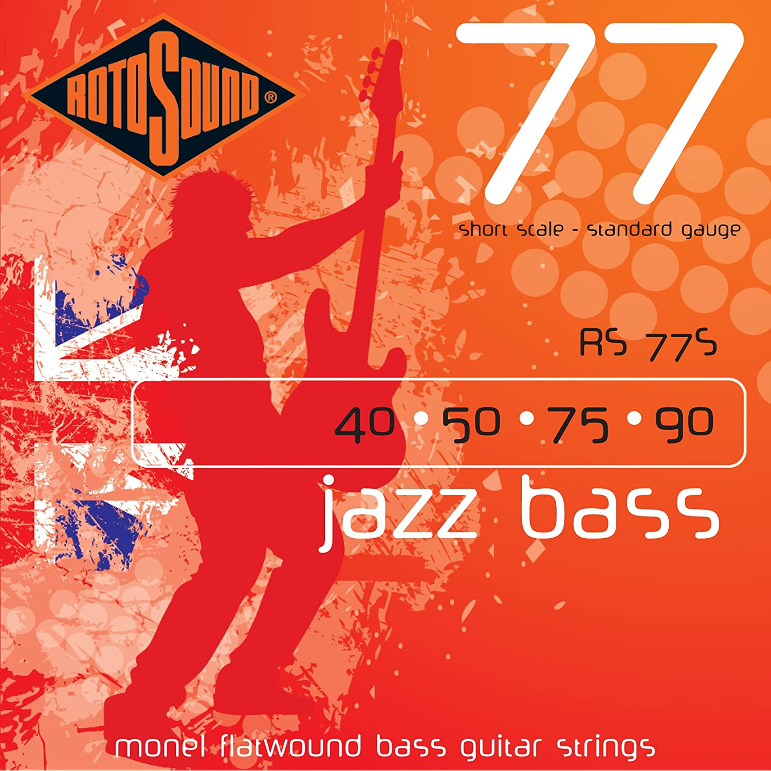 Alguém conhece Rotosound RS77S Monel Flatwound Short-Scale Bass Strings ?? 81nXxdsZg-L._AA1500_