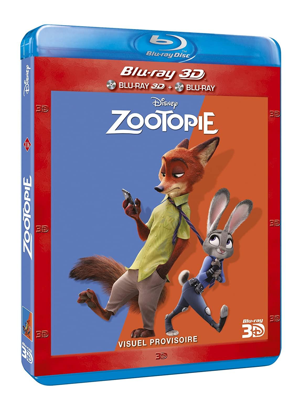 [BD + 3D + DVD] Zootopie (29 Juin 2016)  81pQUZYRoBL._SL1500_