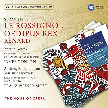 stravinsky - Stravinsky: opéras et autres oeuvres pour voix et orchestre 81qExx4H1bL._SY450_