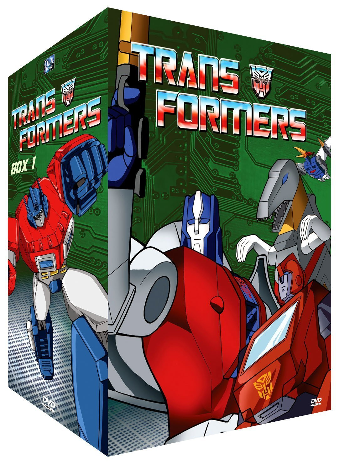 Coffret DVD de Les Transformers (G1) de France par Déclic Images et UFG Junior 81sQEy2dKnS