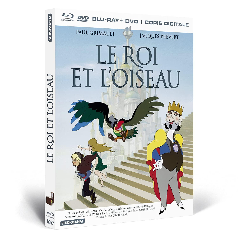 [Paul Grimault] Le Roi et l'Oiseau (1979) 81tiSpXnGxL._SL1500_