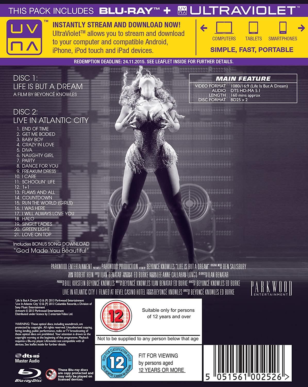 Beyoncé > 'Life Is But A Dream'/'Live In Atlantic City (Revel)' (DVD) [25 NOVIEMBRE] 91Q096WvAgL._SL1500_