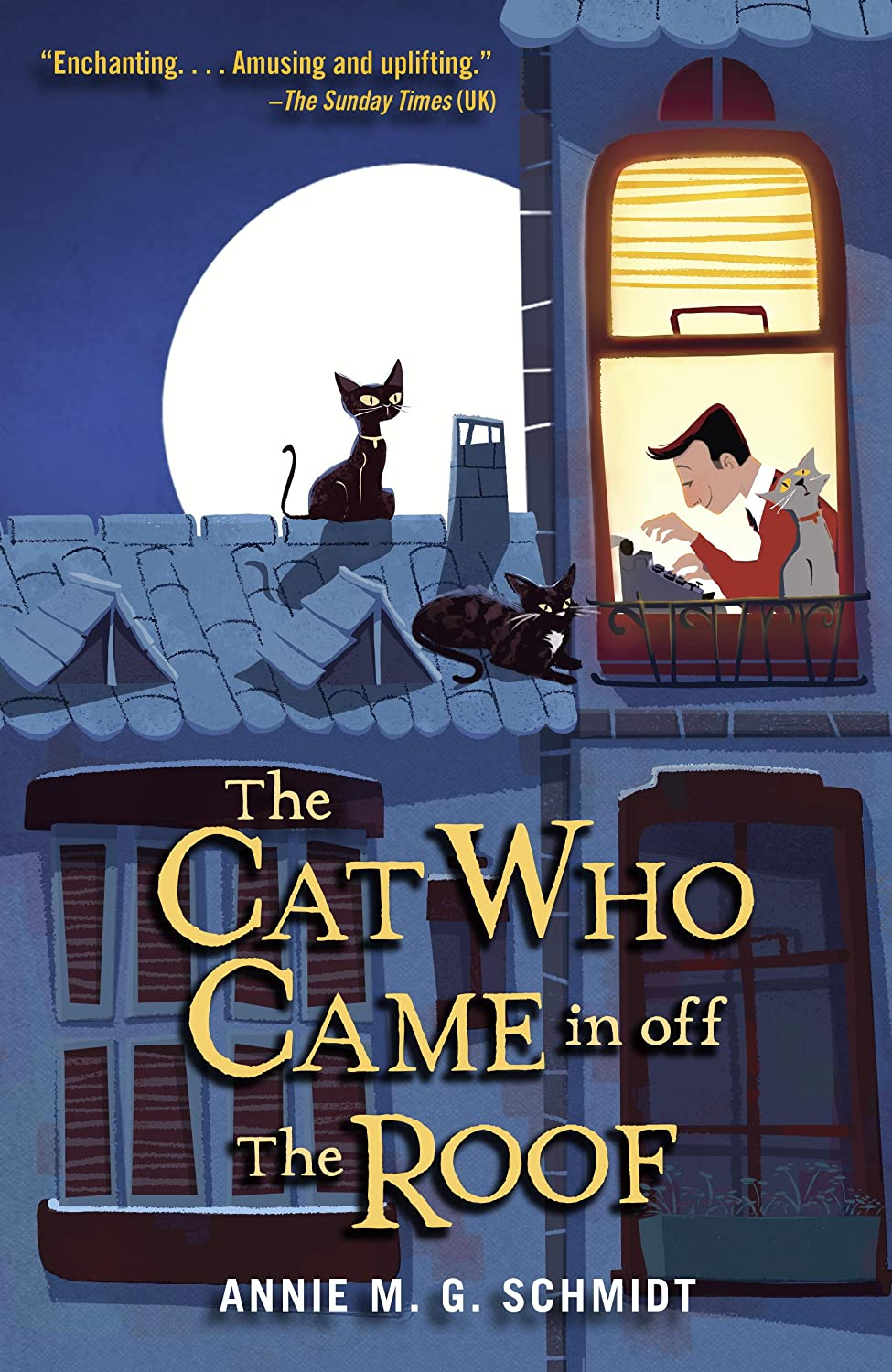 The Cat who came in off the roof d'Annie M. G. Schmidt 91jFjAj8JwL._SL1500_