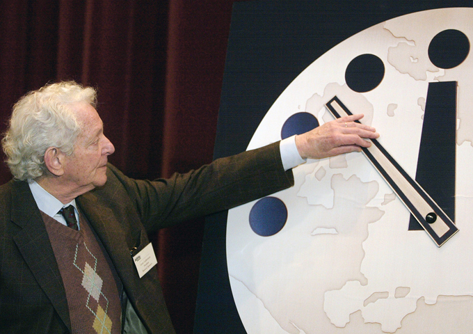 Scientists May Be About To Wind The Doomsday Clock Forward To Its Most Critical Level Since The Height Of The Cold War Doomsday