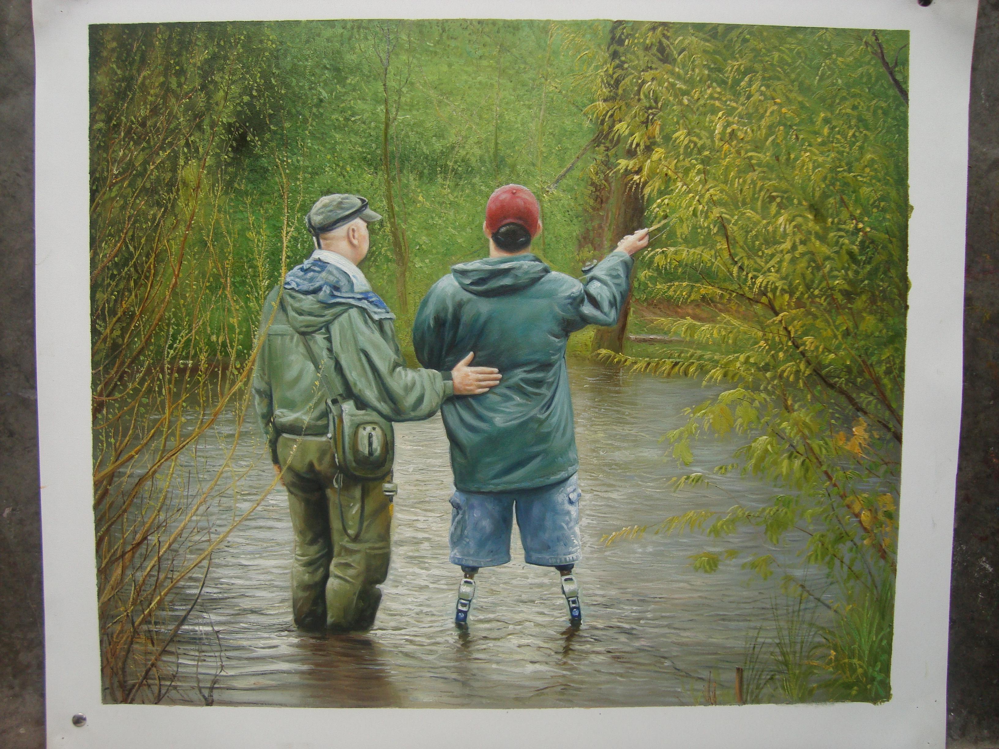 Omaž ribolovcu i ribolovu - Page 3 Newest-fishing-painting2