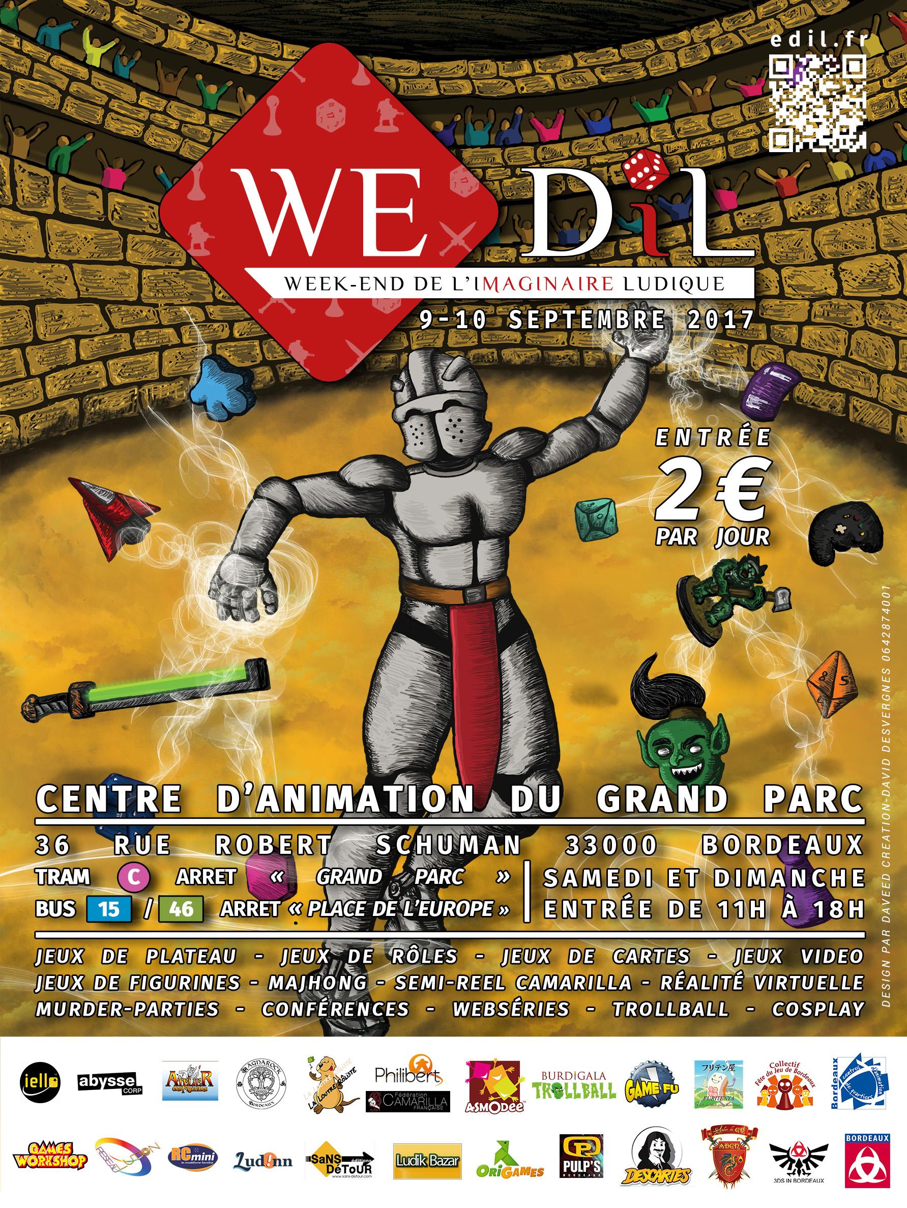 WE-DIL/ Week-End De l'Imaginaire Ludique [09-10 Septembre 2017 au Centre d'Animation du Grand Parc à Bordeaux] TEST_RVB