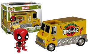 Figurine Funko  Funko-chimichangas-deadpool-camion