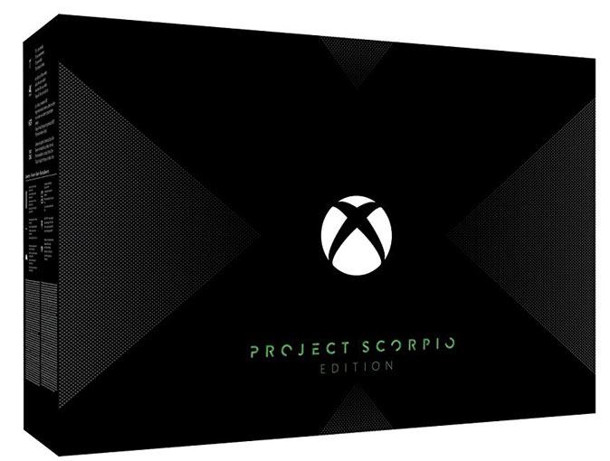 Xbox One X Project Scorpio Xbox-One-x-project-scorpio-edition-limitee-2017