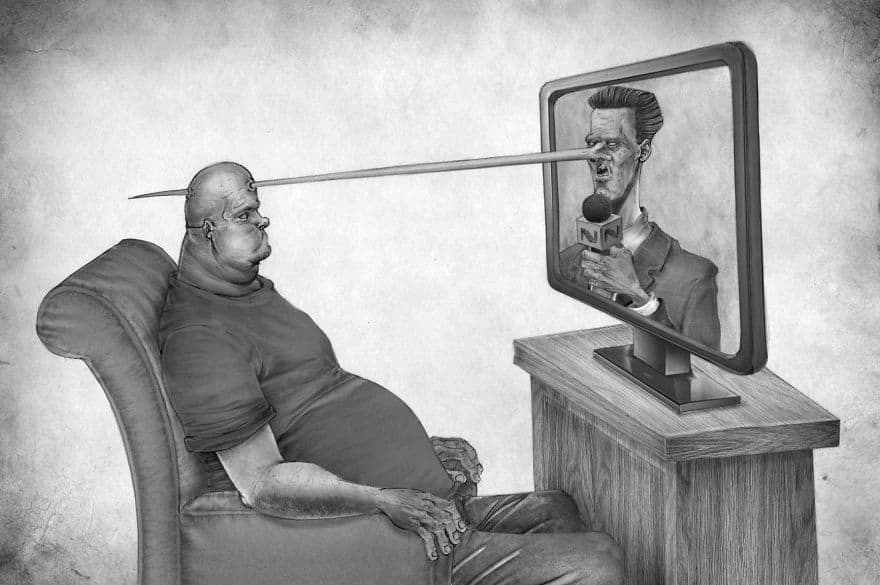 These 15 Drawings Are An Incredible Reflection of What's Wrong With Society 3