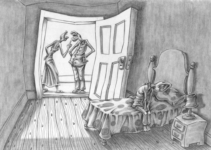 These 15 Drawings Are An Incredible Reflection of What's Wrong With Society 4