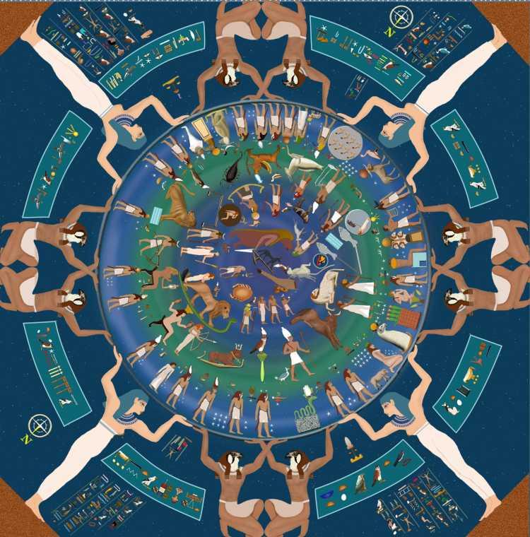 Miti e leggende Dendera__zodiaco