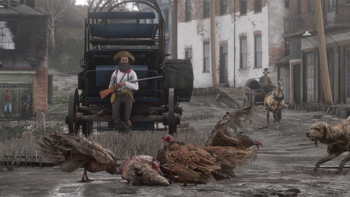Red Dead Redemption 2: All character, release date Red-Dead-Redemption-town