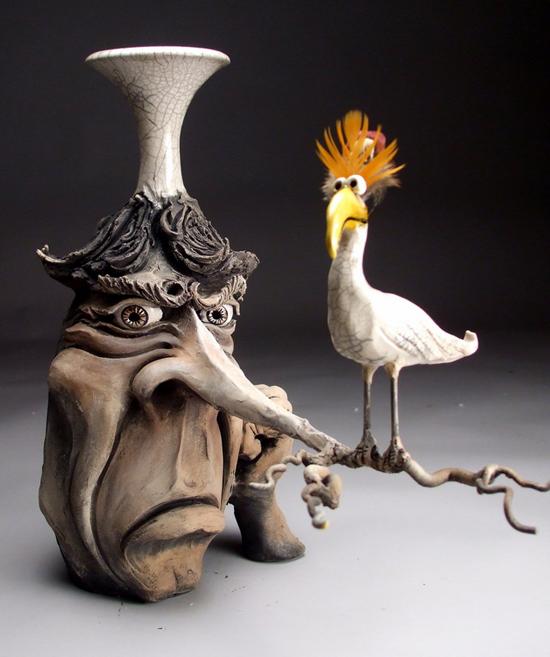 Keramika-umetnost mastovitih  i spretnih ruku! - Page 12 Mitchell-Grafton-sculpture1