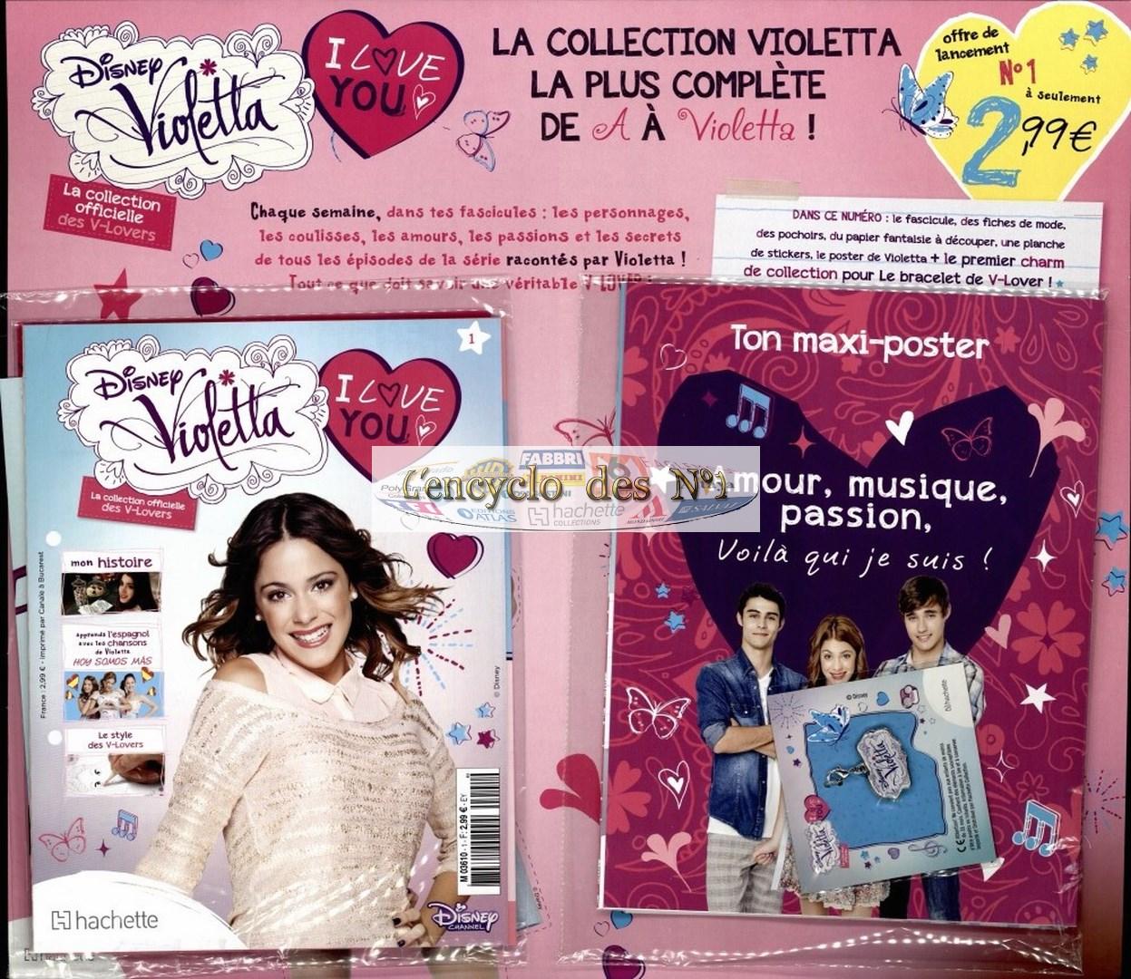 N° 1 Disney Violetta I love You - Collection Hachette - Sept 2014 DwrAmIst30cY4zXudvCHKxmFfTw
