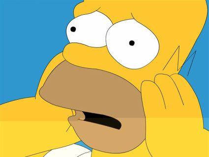 ¿Quién fue el lumbreras que decidió que se comieran las pasas? Homer-simpson-oh-no