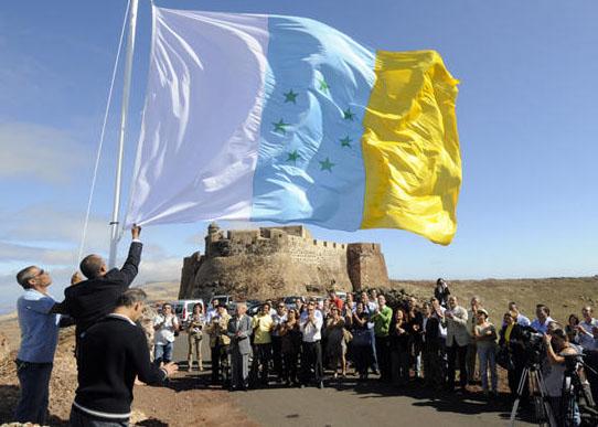 ¿Qué pasaría si Canarias se independizara? Banderacastilloguanapay