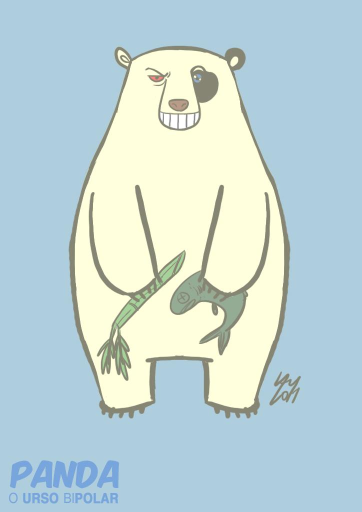 Arte de Rafael Lam - Ilustras! - Página 8 Panda-o-urso-bipolar