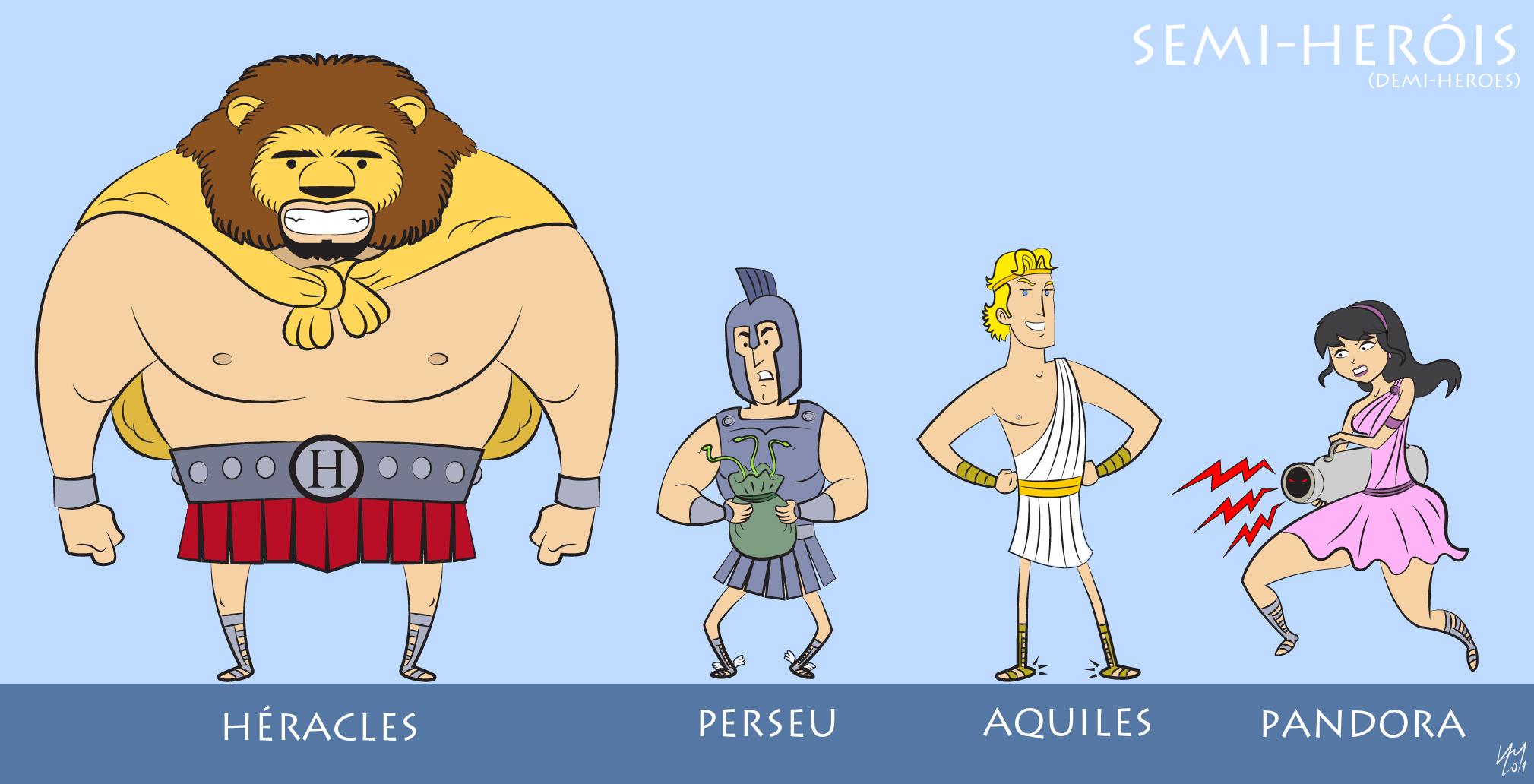 Arte de Rafael Lam - Ilustras! - Página 8 Semi-herois-vetorizado