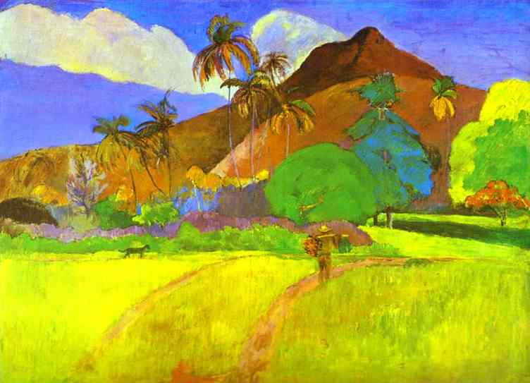 Sagesse du pluvian - Page 10 Paul_gauguin__paysage_tahitien__01