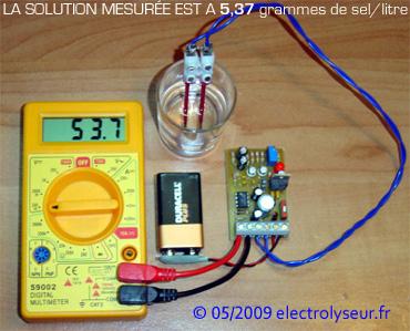 Réalisez ce CONDUCTIMÈTRE ( mesure du sel ) électronique ! Conductivimetre