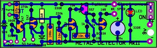 DETECTOR DE METAIS MKII (PINPOINTER) - Página 3 Metal-detector-pcb-design