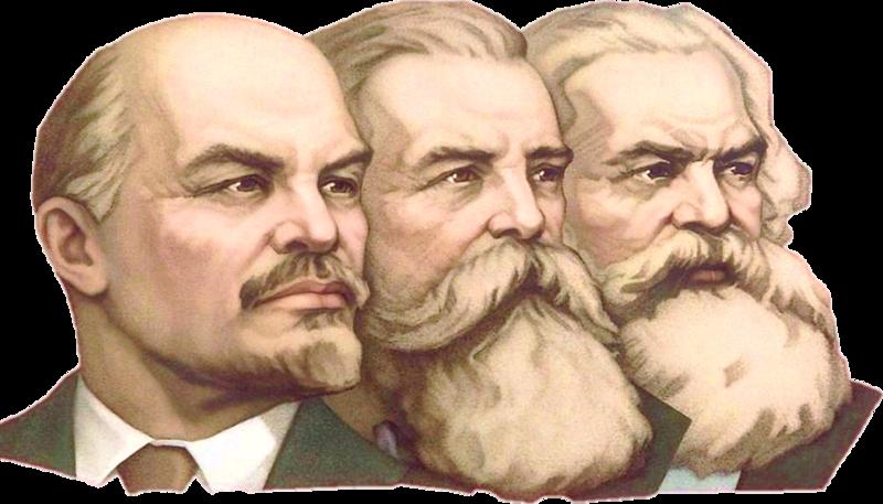 Puncte şi reputaţie 800px-Lenin_Engels_Marx