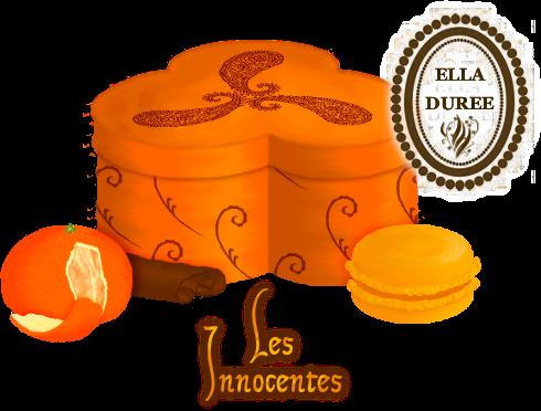 Créations pour Ella Durée MacaronsInnocentesEllaDuree