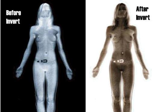 Na, így néz ki egy Rendőrállam! Body-scan