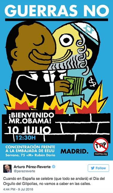 Pérez Reverte, el Chuck Norris español - Página 9 Cartel-izquierda-unida-perez-reverte