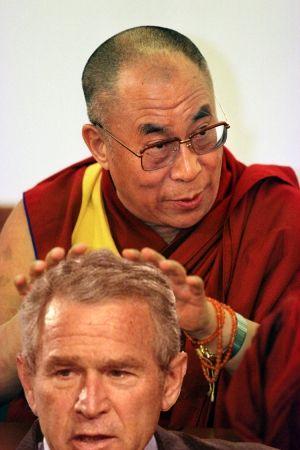 Tíbet, fotografías de 1950-1960 Medium_dalai_lama_bush