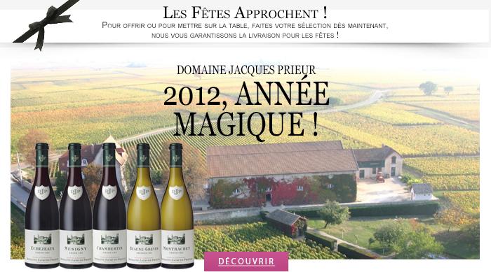 Domaine Jacques Prieur 2012, année magique! 1190430038