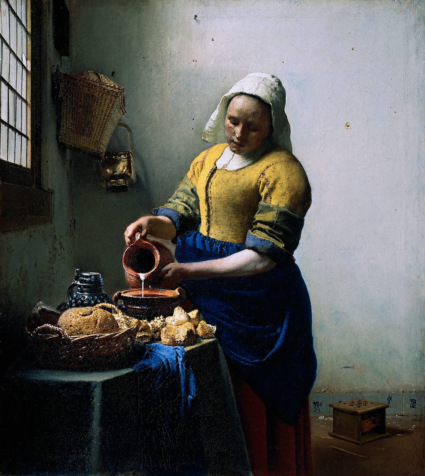 Johannes Vermeer Johannes_Vermeer_-_De_melkmeid