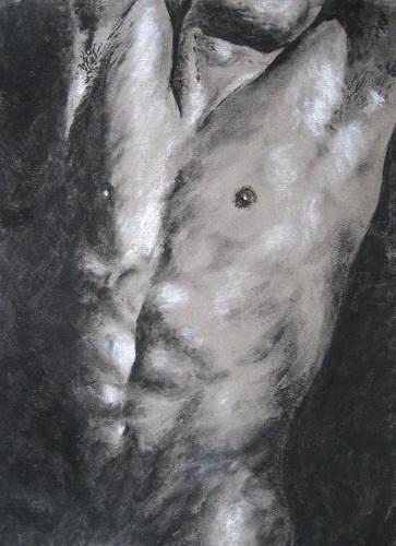 Muskarci na slikarskom platnu Sabina-Haas-Erotic-motifs-Male-nudes-People-Men