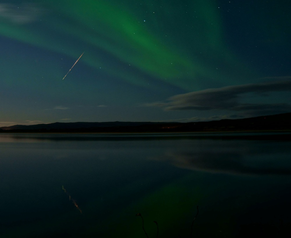 EarthSky's meteor shower guide for 2013 Draconid_meteor