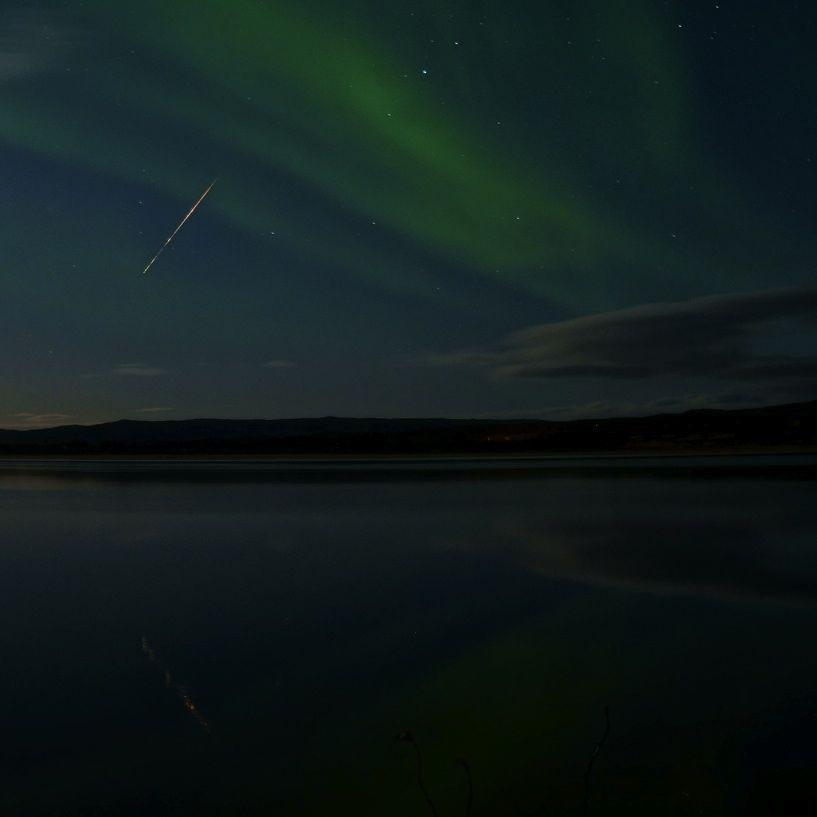 Legendary Draconid meteors peak after sunset October 8 Draconid_meteor