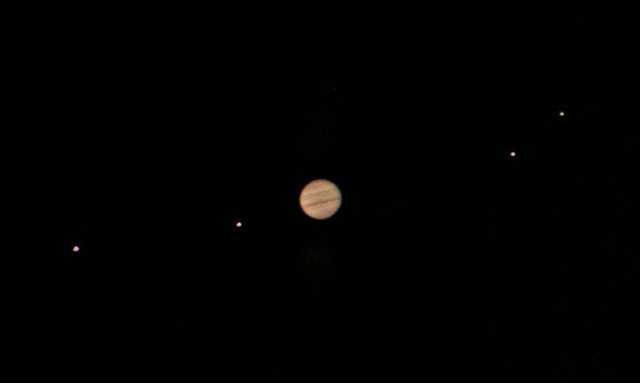 September 2013 guide to the five visible planets Jupiter-and-moons-io-europa-ganymede-callisto