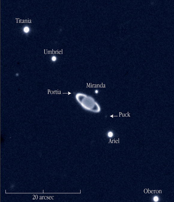 Everything you need to know: Hunter's Moon 2015 Uranus-and-moons-eso