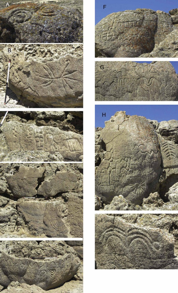 Nevada rock carvings may be oldest in North America Winnemucca_oldest_NA_petroglyphs_details-e1376896272823