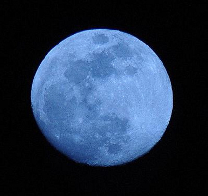 Has the Moon REALLY tilted 90 degrees or is it our perspective from the Earth Seasonal_blue_moon