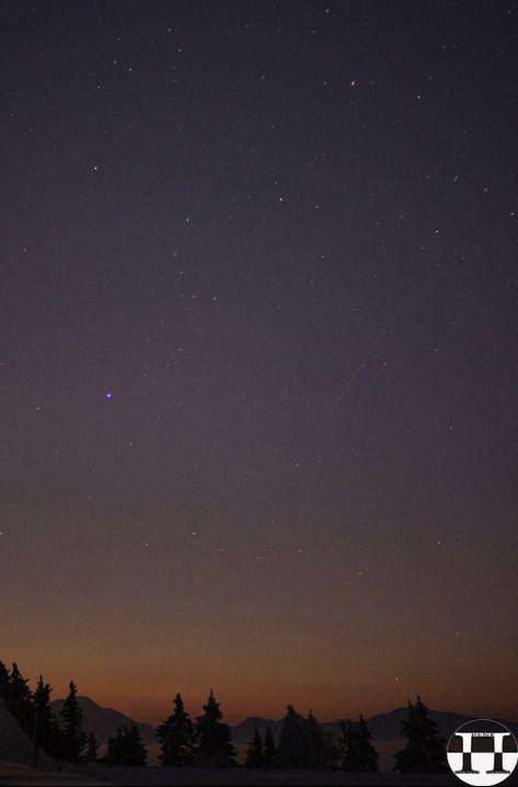 Full moon, Leonid meteors, Comet ISON on November 16-17 Comet-ison-meteor-Rene-Pi-BSc-Austria