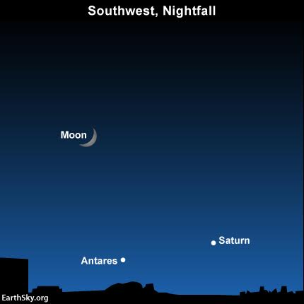 See all five visible planets in October 2015-october-17-moon-saturn-antares