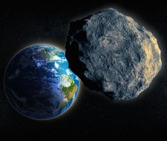 Update: Close pass of Halloween asteroid Asteroid-earth-artist-shutterstock