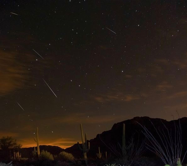 EarthSky's 2018 meteor shower guide Draconids-10-7-2013-Sean-Parker-Photography-Tucson-cp
