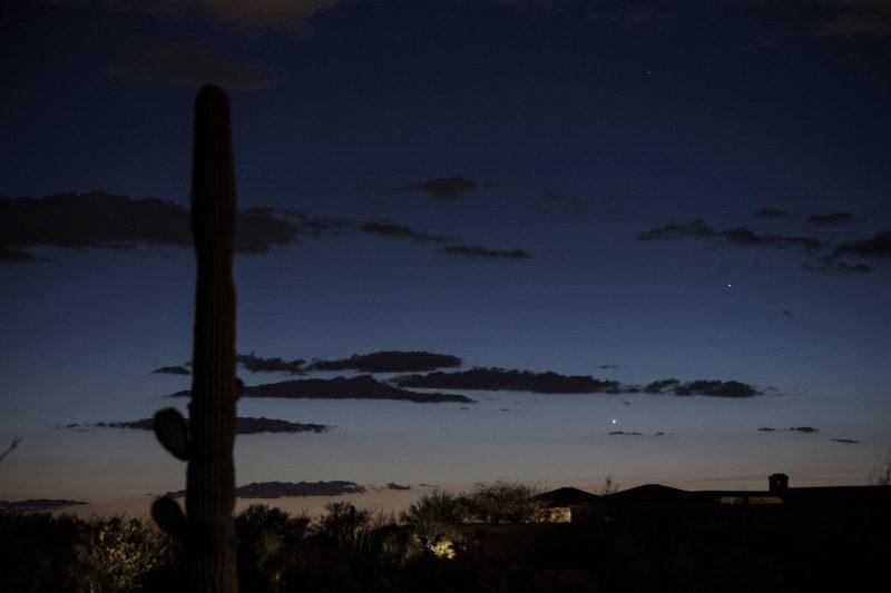 Have you seen Venus and Mercury yet? Venus-mercury-3-14-2018-Eliot-Herman-Tucson-AZ-e1521115826681