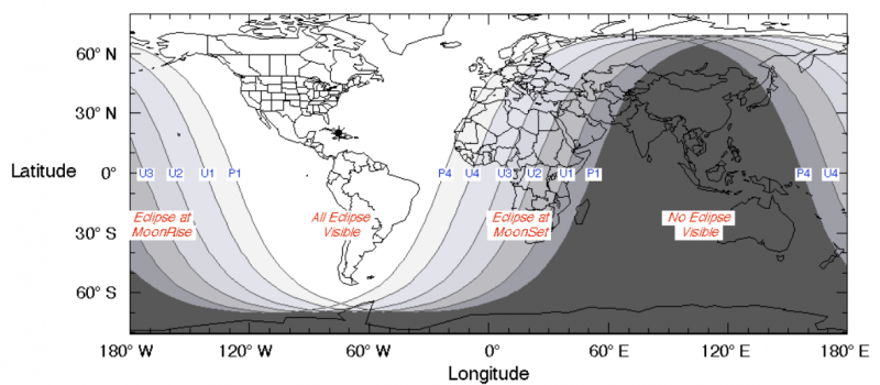 The total lunar eclipse of January 20-21 Visibility_Lunar_Eclipse_2019-01-21-800x350