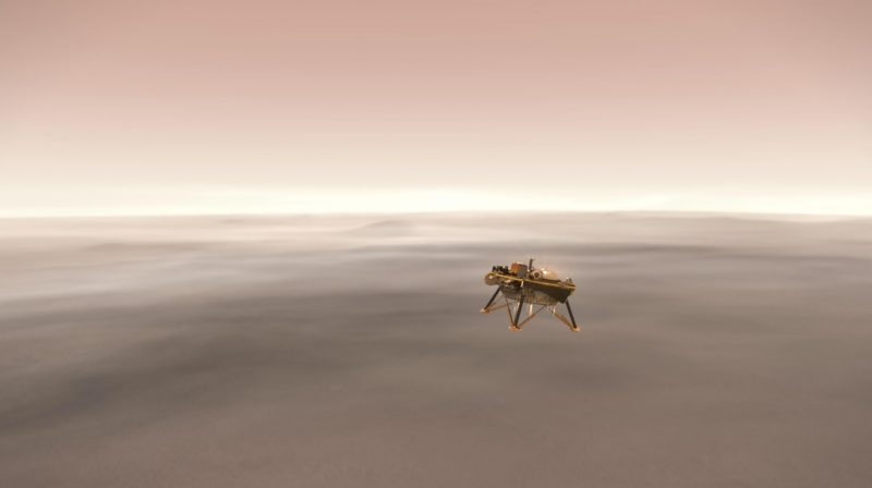 NASA Insight landing on Mars November 26 Insight-mars-landing-illustration-e1542637842571
