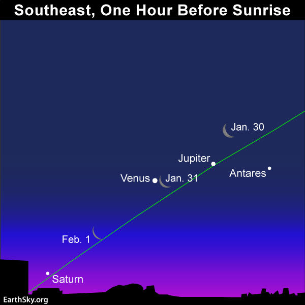 February guide to the bright planets 2019-jan-30-31-feb-1-moon-jupiter-venus-saturn