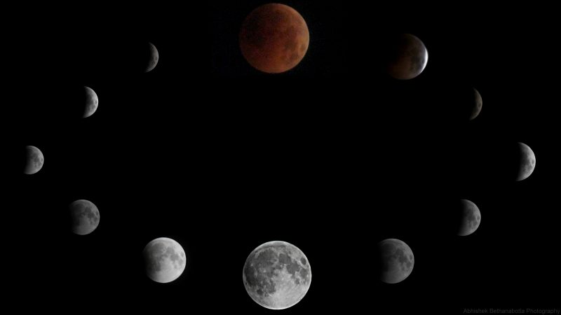 Beautiful photos & Videos! Full moon eclipse and Mars Eclipse-moon-7-27-2018-Abhishek-Bethanabotla-Hyderabad-India-e1532775435552