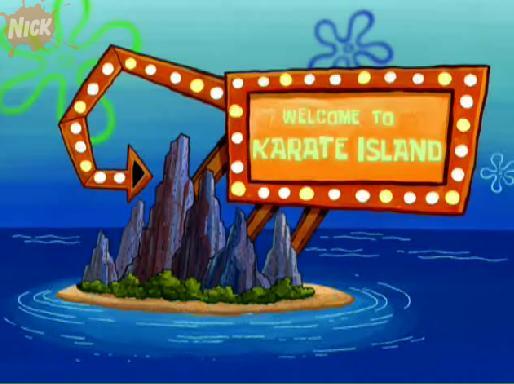Faveurs d'un Voleur Karate-insel