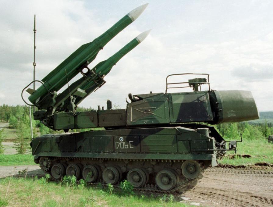 الأسلحة الحديثة لدى الجيش السوري Buk
